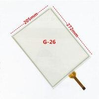 12.1 inch GT/GUNZE U.S.P. 4.484.038 ss-G-26 GT/GUNZE USP.4.484.038 G-26 Cảm Ứng glass bảng điều chỉnh (Giao Diện 11 mét)