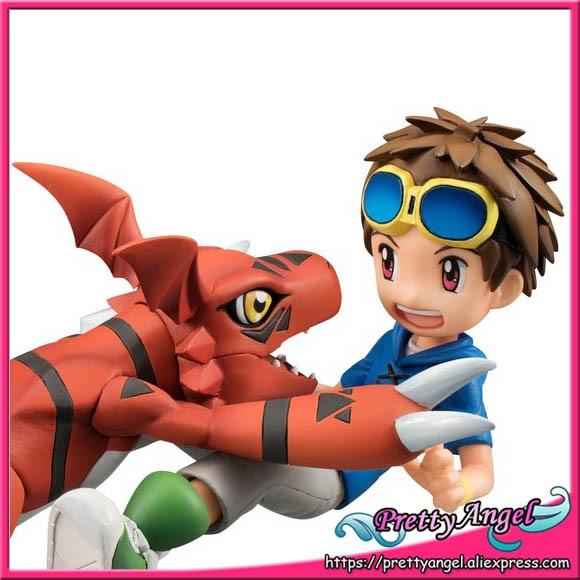 PrettyAngel - Genuine Megahouse G.E.M. Digimon Adventure Guilmon & Matsuda Takato Complete Figure недорго, оригинальная цена