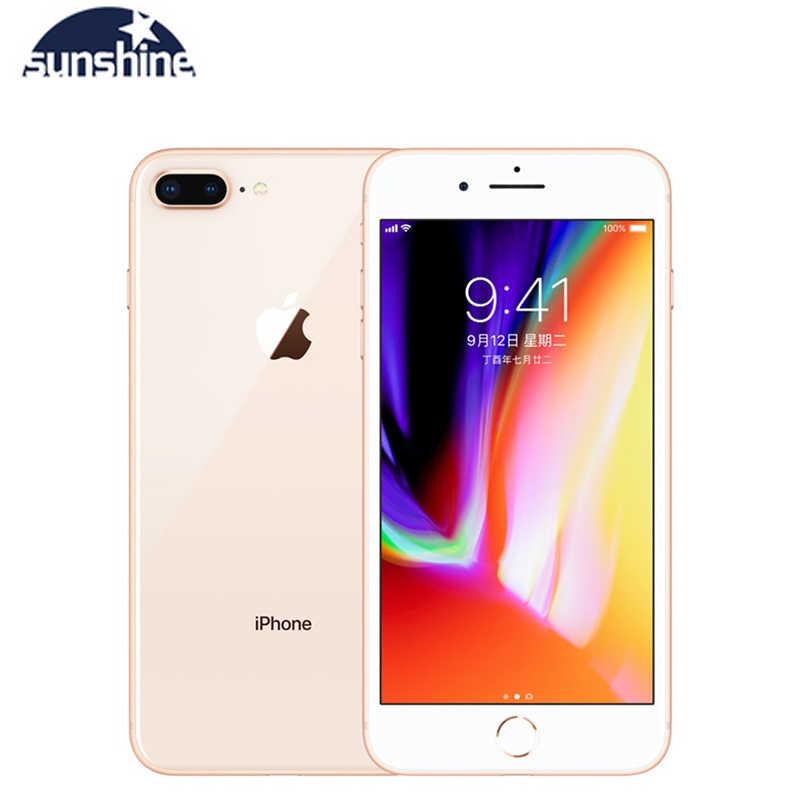 """Używane Apple iPhone 8 Plus 3GB 64GB odblokowana oryginalne telefony komórkowe 3GB pamięci RAM 64/256GB ROM 5.5 """"12.0 MP z systemem iOS hexa-core telefon komórkowy"""