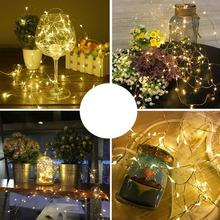 все цены на 2M 20 LED Battery Powered String Lights LED Fairy Lights for Christmas Party Decoration Holiday Light String