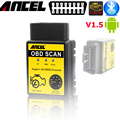 Scaner carro android ancel elm327 obd2 Bluetooth V1.5 elm327 OBD2 Leitor de Código de Auto Mini 327 Car diagnostic 25k80