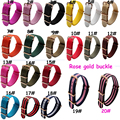 1PCS High quality 18MM 20MM 22MM 24mm washable nato strap Rose gold buckle nato straps Watch band watch strap 20 colors