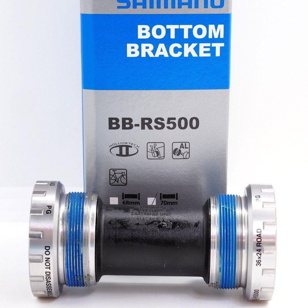 Shimano Road BB-RS500 Hollowtech-II English BSA Bottom Bracket 68mm New Stock