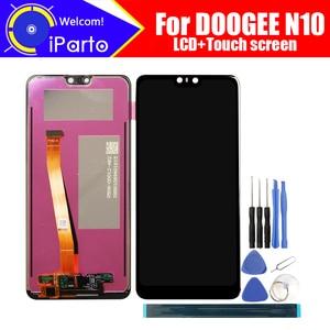 Image 1 - 5.84 Inch Doogee N10 Lcd scherm + Touch Screen Digitizer Vergadering 100% Originele Nieuwe Lcd + Touch Digitizer Voor N10 + Gereedschap