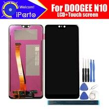 5.84 calowy wyświetlacz Doogee N10 LCD + montaż digitizera ekranu dotykowego 100% oryginalny nowy LCD + dotykowy Digitizer dla N10 + narzędzia