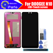 Display LCD da 5.84 pollici Doogee N10 Touch Screen Digitizer Assembly 100% nuovo originale LCD Touch Digitizer per strumenti N10