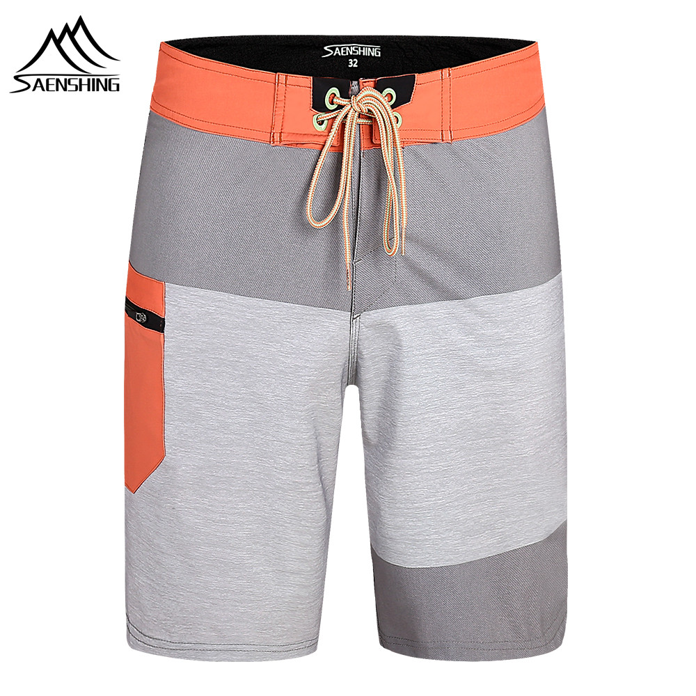SAENSHING Beach   Board     Shorts   Men Swimwear Swimming Trunks Male Surfing Swim   Shorts   High Quality Breathable Swimsuit Bermudas