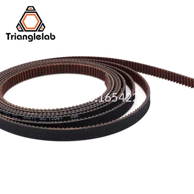trianglelab GATES-LL-2GT 2GT belt synchronous belt GT2 Timing belt Width 6MM 9MM wear resistant  for Ender3 cr10 Anet 3D Printer 1