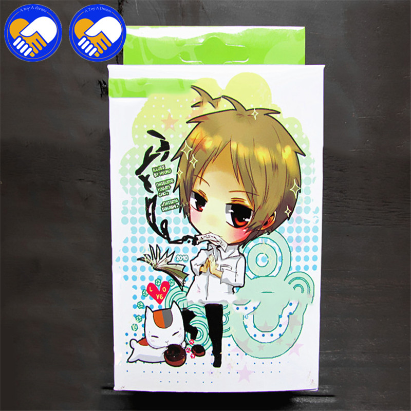 NEW HOT!! 54 pcs/pack Natsume Action & Toys figures Collection Poker Cards Natsume Yuujinches Cosplay Board Game Cards Toys