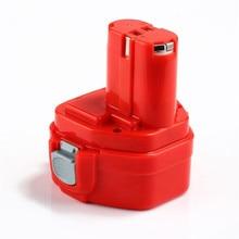 Для Makita 12 В 3000 мАч Перезаряжаемые Мощность инструменты Батарея для Makita PA12 4000 5000 6200 6300 1050 1220 1222 1234 Ni-MH