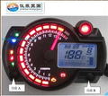free shipping universal Refit 14*10*5.5 motorcycle lcd speedometer motorcycle speedometer motorcycle digital speedometer