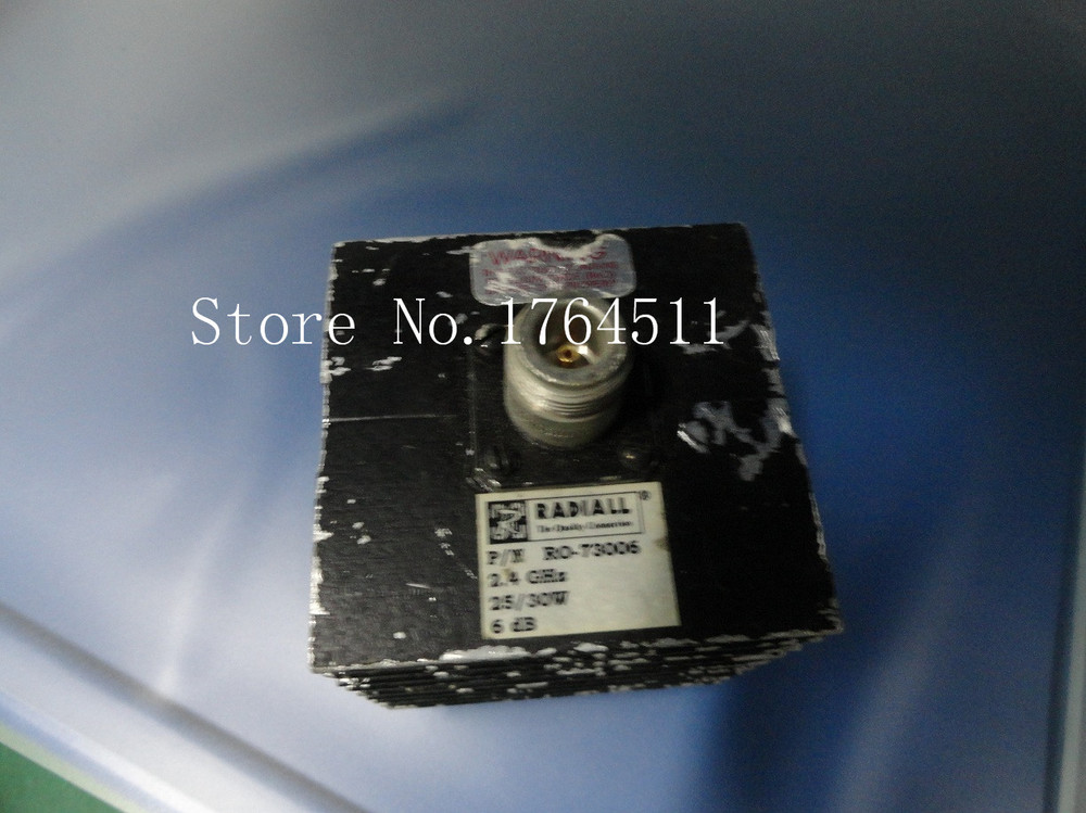 [BELLA] The Supply Of RADIALL RO-73006 DC-2.4GHZ 6DB Coaxial Fixed Attenuator 30W