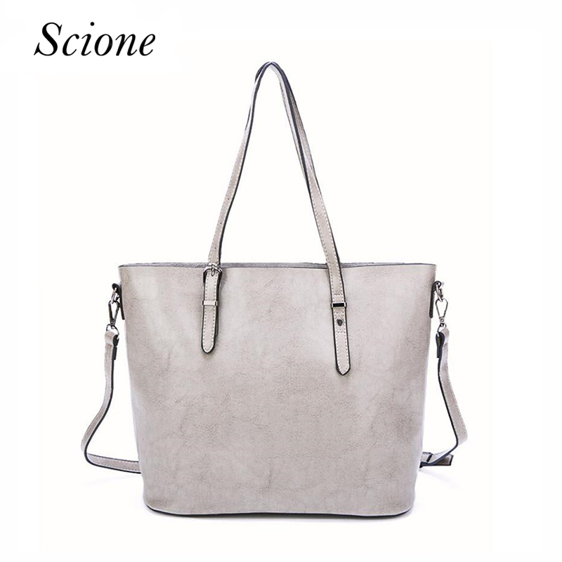 Silver Hobo Women Bag Fashion Leather Big Shoulder Bags Female Large  Handbag Ladies Tote Hand Bags ... b8056eb25103f
