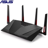 ASUS RT AC88U Wireless Router MIMO Technology Dual Band Network WiFi Repeater 1800Mbps Support VPN IEEE 802.11n/g/b/a