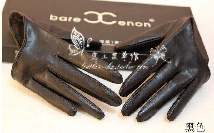 ff5aa194cebae 2016 automne pour femmes gants femmes de mode En Cuir gants rouge noir bleu  brun 4 couleurs taille S M dans Gants et Mitaines de Vêtements Accessoires  sur ...
