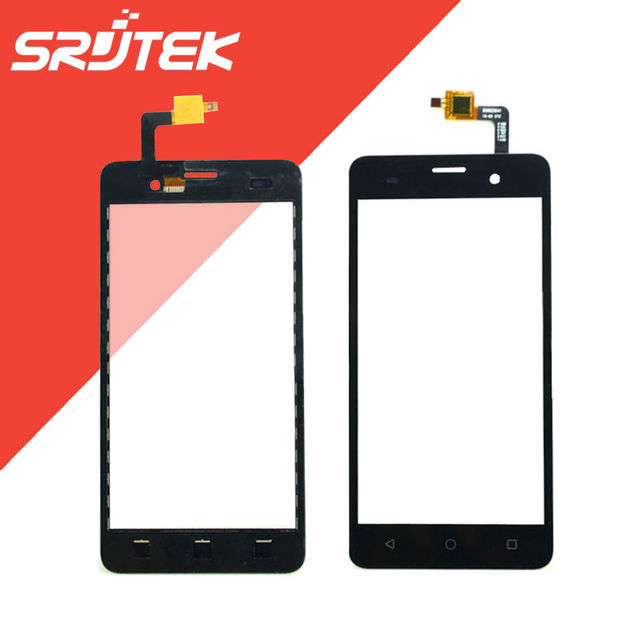 "5.0"" For Wiko Lenny3 Lenny 3 Touch Screen Digitizer Sensor Outer Glass Replacement Parts Black"