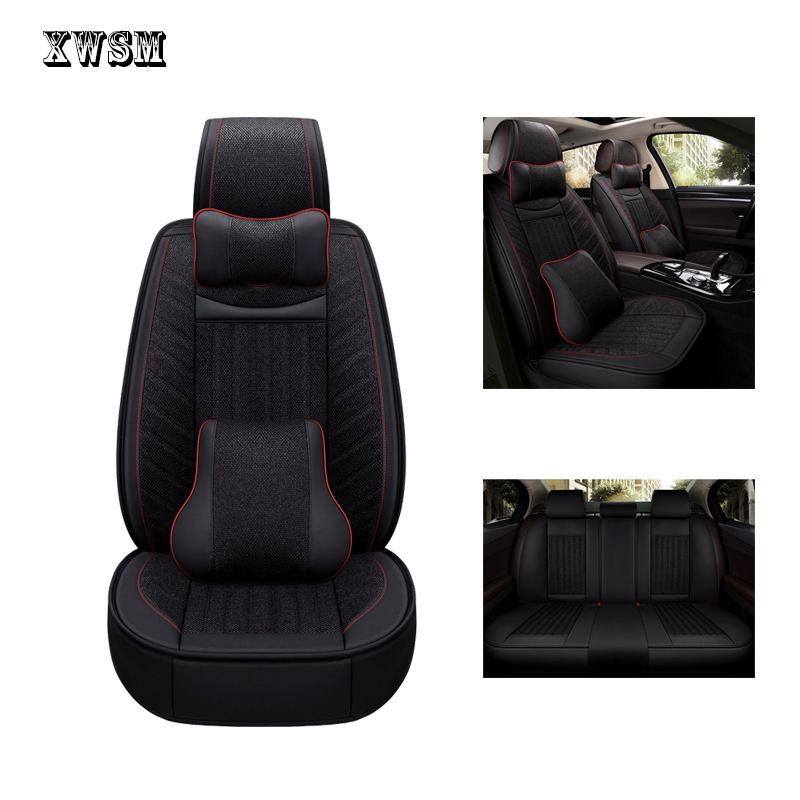Housse de siège de voiture XWSN pour hyundai solaris tucson 2017 creta getz i30 i20 accent ix35 housses accessoires pour siège de véhicule