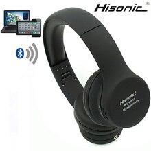 Hisonic bluetooth micrófono gaming headset auriculares inalámbricos 4.2 v estéreo deporte auricular inalámbrico auriculares audifonos