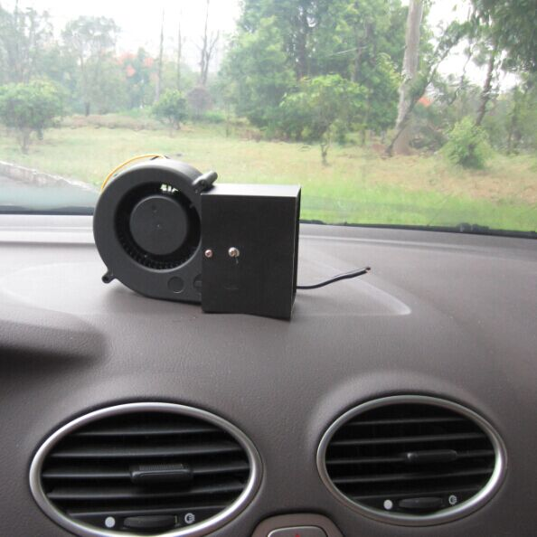 Windscreen Demister Defroster Car Heater Cooling 2in1 Fan