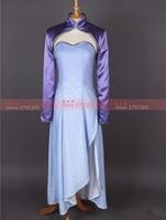 RWBY Weiss Schnee cosplay costume Halloween Cosplay Uniform long version dress free shipping custom made