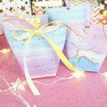2 style 12 pcs gold heart cloud Paper Box candy Cookie valentine chocolate gift Packaging Wedding Christmas Use