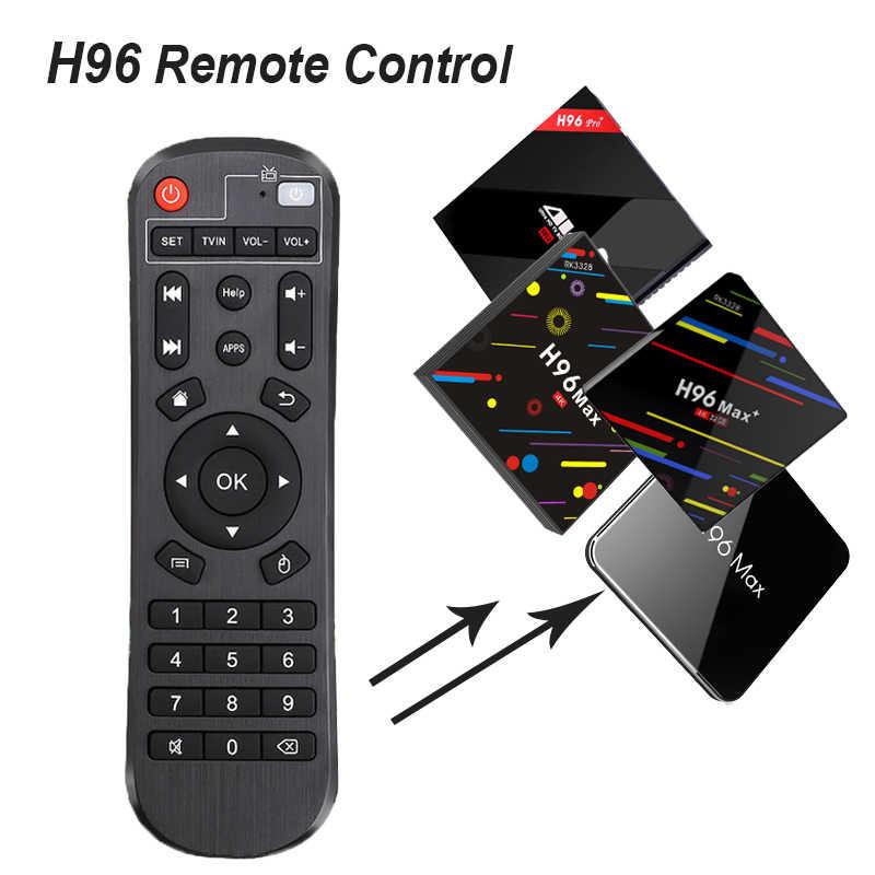 Remote Control for H96 Android TV box remote control Be applicable H96/H96  PRO +/H96 MAX H2/H96 MAX PLUS/H96 MAX X2/X96 MINI etc