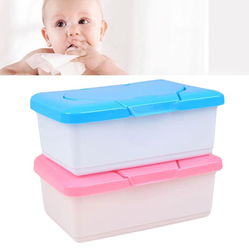 Tissue Paper Case Dry Wet Baby Wipes Napkin Holder Dispenser Storage KV