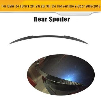 Carbon Fiber Car Rear Trunk Spoiler Wing For BMW Z Series Z4 E89 30i 35i 28i 20i 18i Convertible 2 Door 2009 - 2015