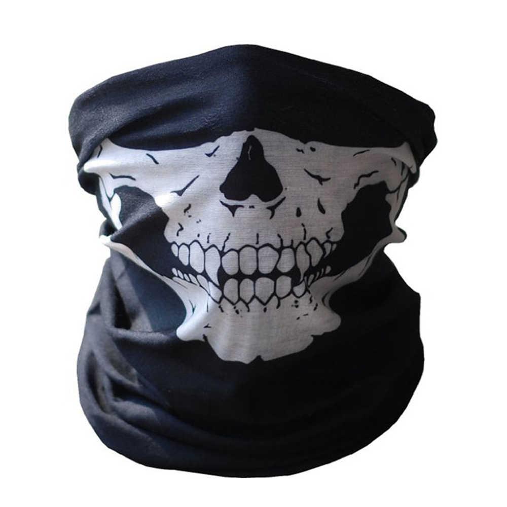NEW Xe Máy Skull Lá Chắn Mặt Airsoft Mặt Nạ Cho Cagoule Moto Xe Máy Mặt Mặt Nạ Mascara Neopreno Động Cơ Mặt Nạ Mặt Nạ Của Bọ Cạp