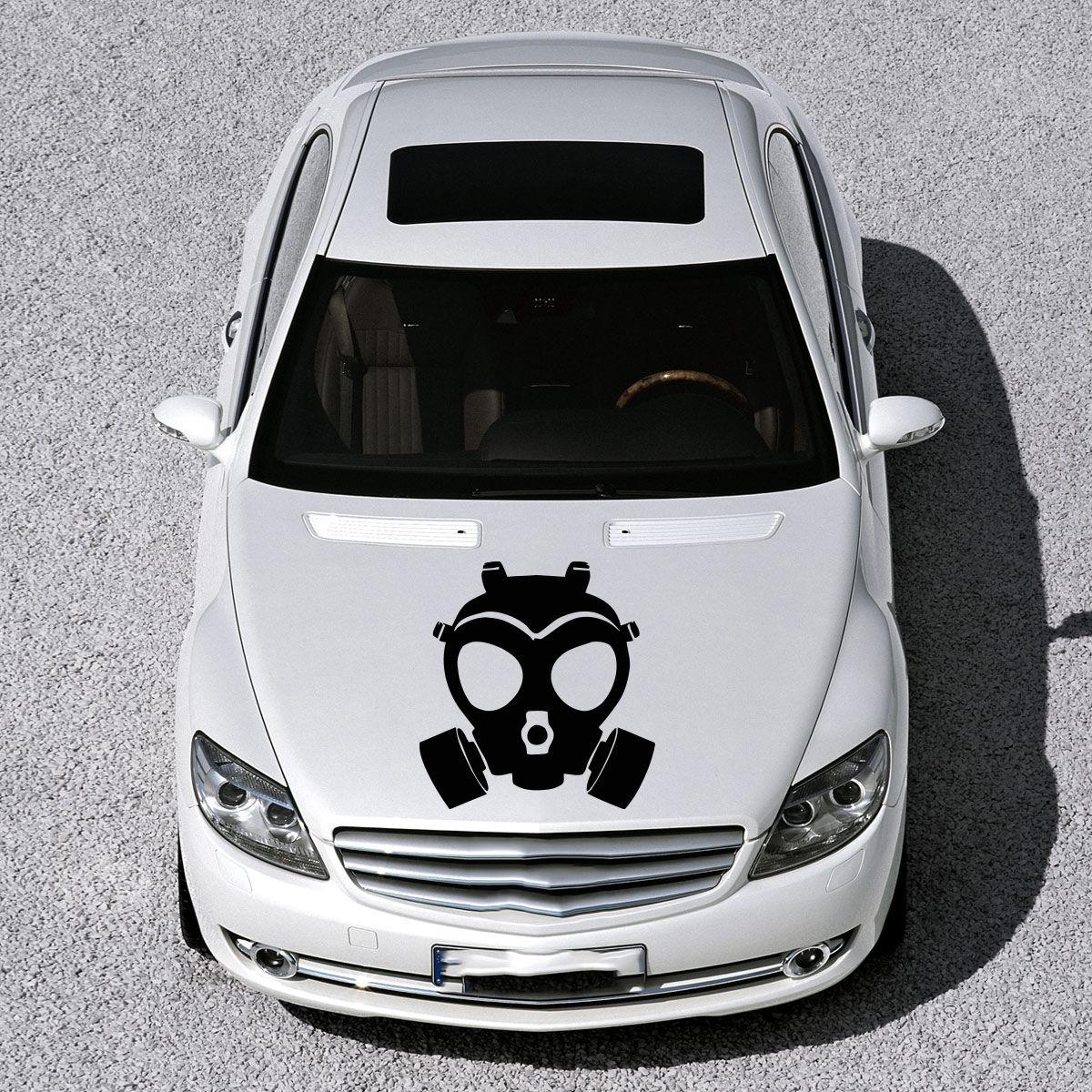 Car sticker design jb - Gas Mask Monster Art Murals Design Hood Car Vinyl Sticker Decals Sv1001 China Mainland