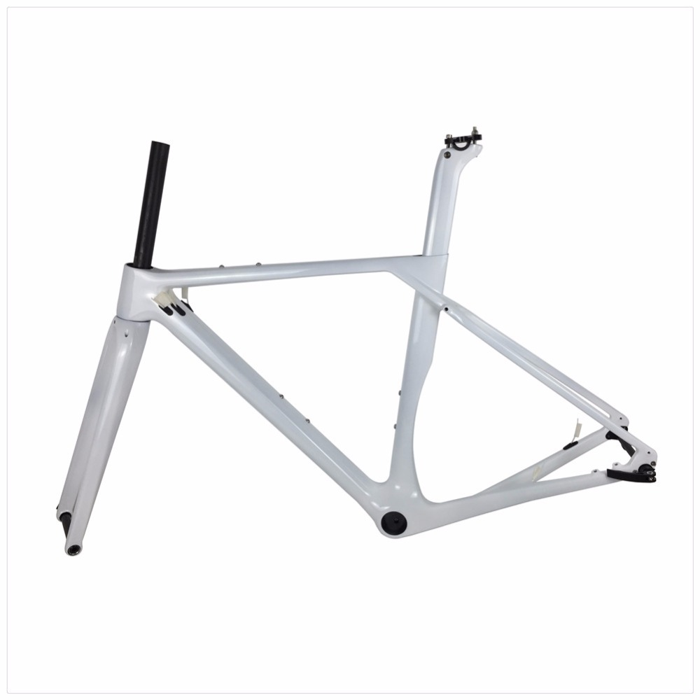 New Design Gravel Frame Carbon Gravel Bike Frame, Gravel Carbon Bicycle Frame, Cyclocross Frame Thru Axle 142x12mm or 135x9mm  seraph 2018 carbon fiber cyclocross bike carbon cyclocross frame 142 12mm rear thru axle fm286 carbon frame 56 color paint