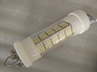 5M Cable Dimmable 420Pcs SMD2835 140W 12V LED Underwater Diving Lamp Fishing Lights Dock light