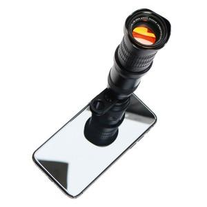 Image 2 - 18 30X hdプロ携帯電話カメラ望遠鏡レンズiphone xiaomi調節可能な望遠ズームレンズスマートフォンlentesキット