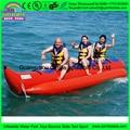 4 person custom color single tube Banana boat,kayak banana boat,jet ski boat for sale