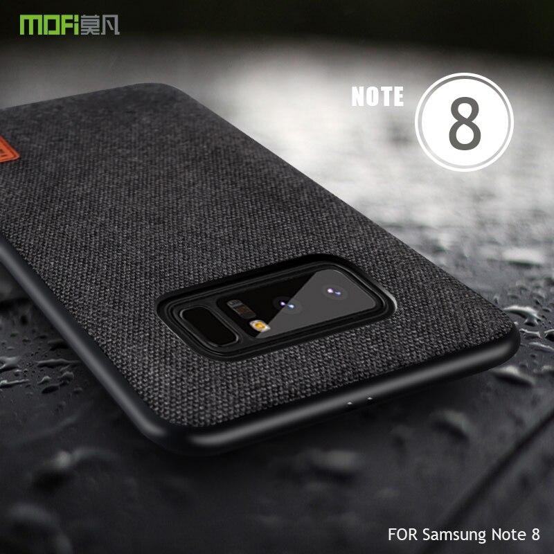 Para Samsung Galaxy S 8 funda MOFI para Galaxy S 8 funda de silicona suave borde completo funda para Galaxy Note8