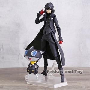 Image 3 - Persona 5 Shujinkou and Morgana Joker Figma 363 Moveable Action Figure Collection Model Doll Toy