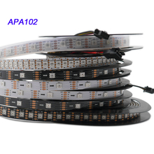 DC5V,APA102 strip,1m/3m/5m 30/60/72/96/144 leds/pixels/m APA102 Smart led pixel strip ,DATA and CLOCK seperately IP30/IP65/IP67 ремкомплект jtc jtc 5624 ts