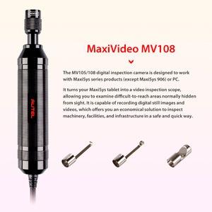 Image 2 - Autel MaxiVideo MV108 цифровая камера для осмотра, для MaxiSys Pro и ПК, поддержка видео, смотровая камера, головка изображения 8,5 мм, мВ 108