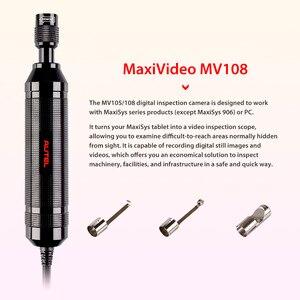Image 2 - Autel MaxiVideo MV108 dijital muayene kamera MaxiSys MaxiSys max için Pro ve PC desteği video muayene kapsamı görüntü kafa 8.5mm MV 108