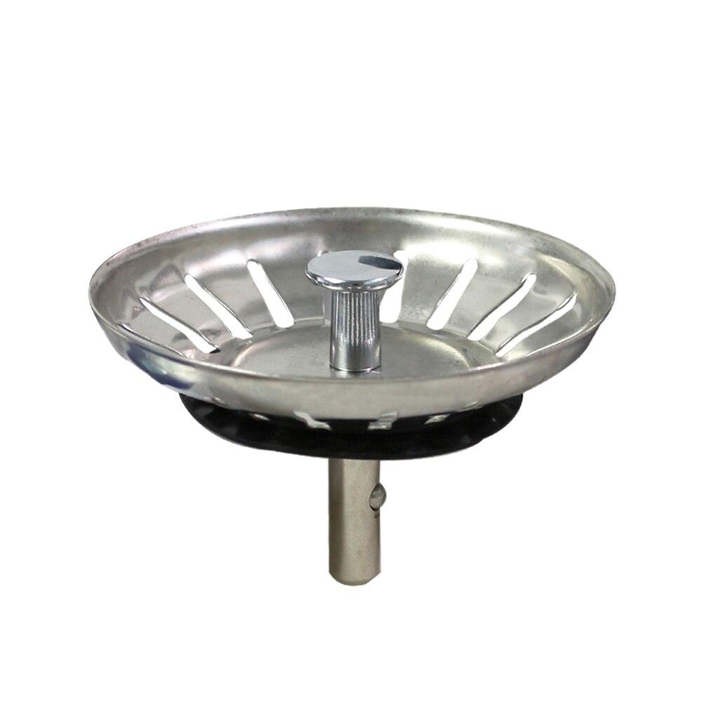 Talea Kitchen Sink Drain Strainer Waste Plug Stainless