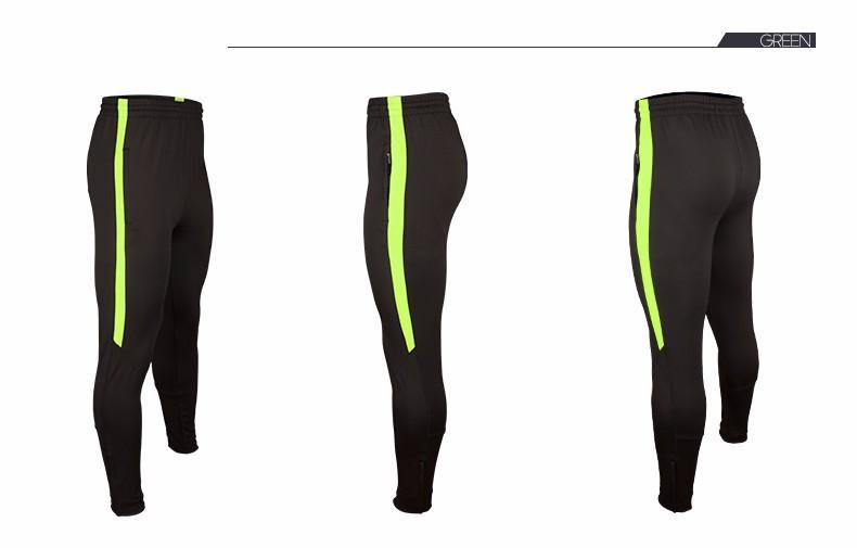 Soccer Training Pants Men Joggers Slim Skinny Jogging Running Tights Trousers Tracksuits Bottoms survetement football 2017 8