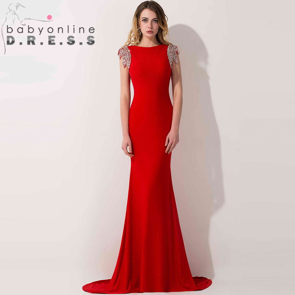 Online Get Cheap Long Red Sequin Prom Dress -Aliexpress.com ...