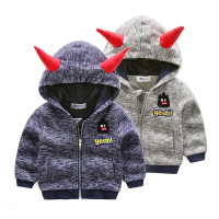 2017 Autumn children hoodies sweatshirt Boys girl cotton cartoon 3D monster dinosaurs baby toddler coat kids clothes Windbreake