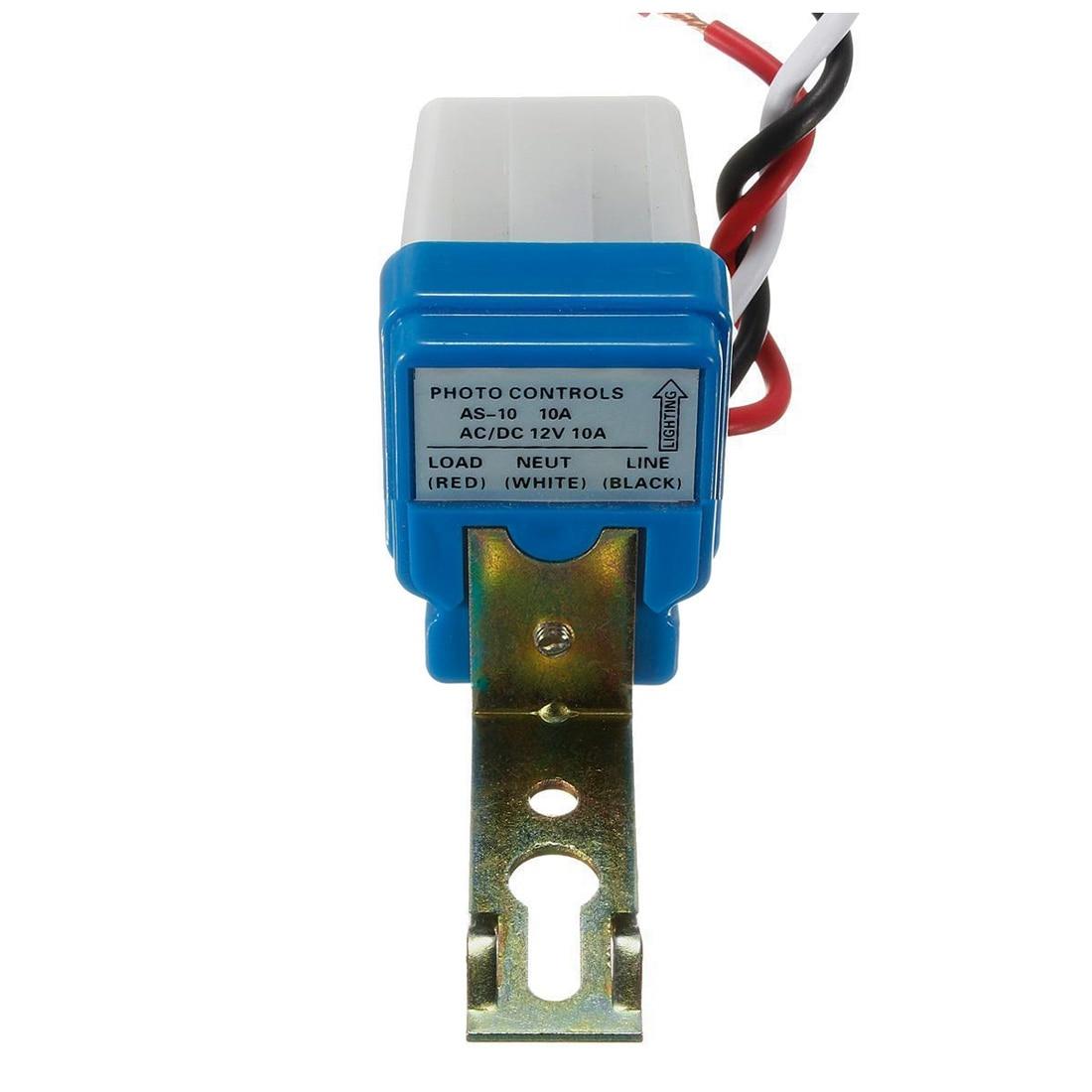 AC DC 12V 10A Automatic Lamp Twilight Switch Light Sensor Twilight Switch мультиметр uyigao ac dc ua18