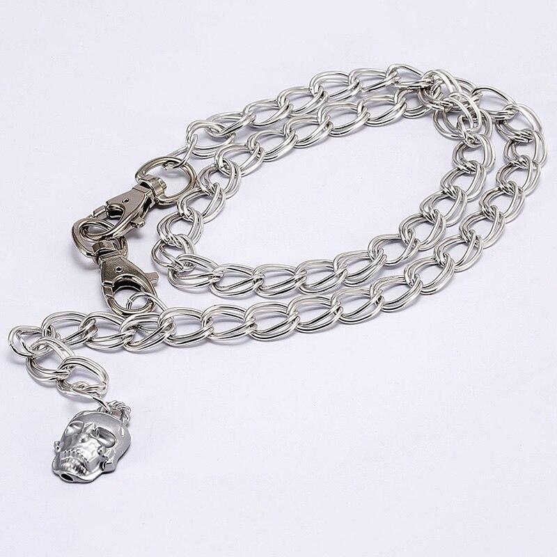 Danganronpa Komaeda Nagito Cool Cosplay Accessory Kito Belly Skull Waist Chains