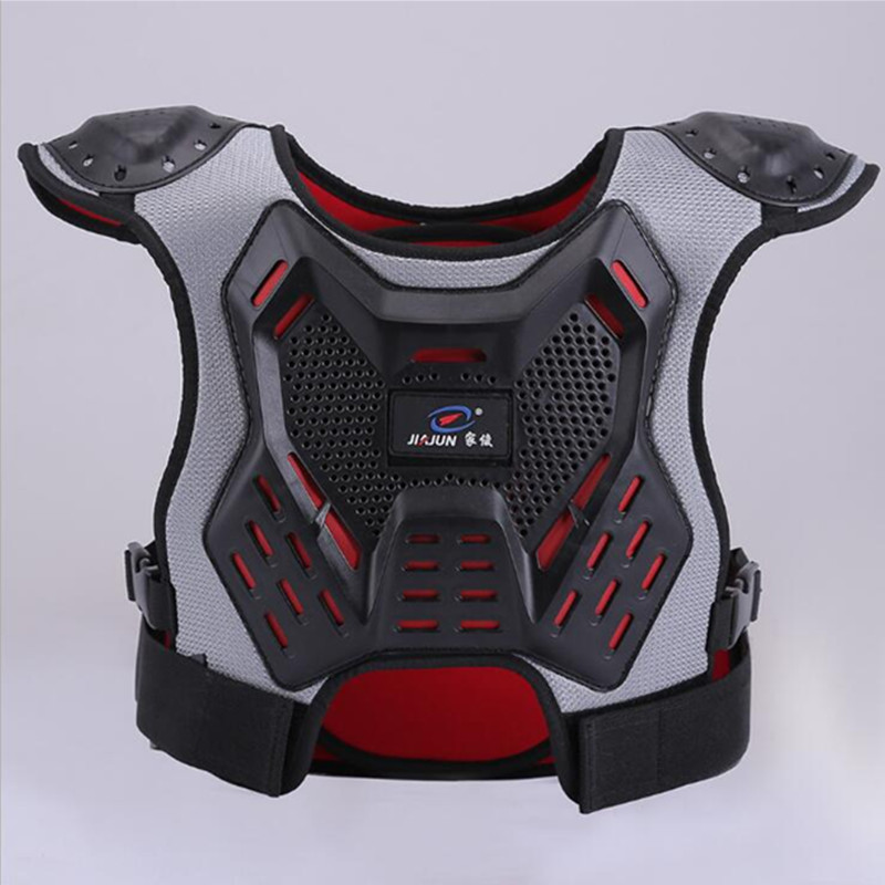 Body Protector armor Motorcycle jackets Motocross back shield sleeveless vest Spine Chest Protective gears Jacket mens