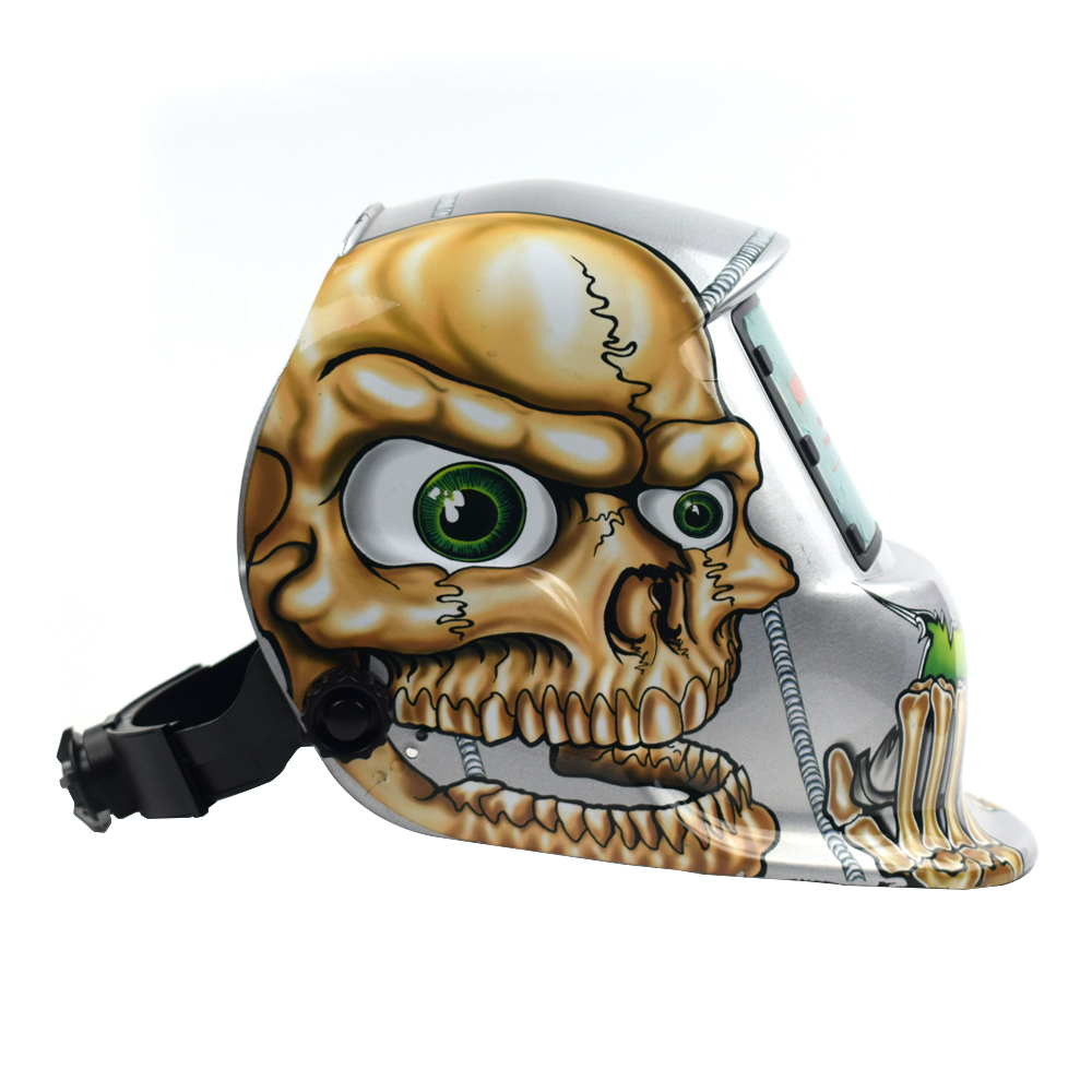 Capacete da soldadura Automática Mudar Banda de Cabeça Máscara de Solda Máscara de Solda Soldador TIG Máscara Osso - 4