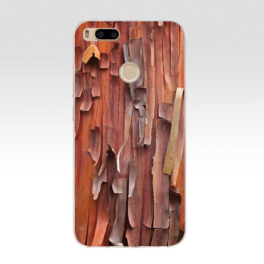 257WE textura de Madera Suave silicona Tpu funda de teléfono para xiaomi redmi 4A 4X note 4 4x mi A1 A2 lite