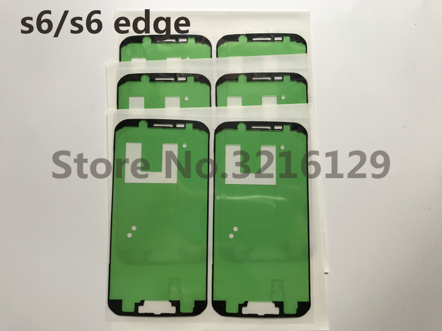 100set lot Original New For Samsung Galaxy s6 g920 s6 edge g925 LCD Display Screen Frame