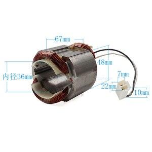 Image 3 - 220V/240V Anker Rotor Anker Stator Veld Motor Vervanging Voor Makita HR2800 HR2810 HR2811FT HR2811F Elektrische Hamer